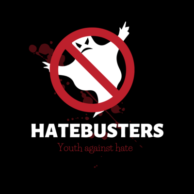 Logo Hatebusters - Youth against hate