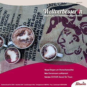 Cover WeltverbesserIn Magazin