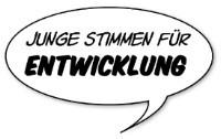 Logo - Schriftzug Junge Stimmen für Entwicklung
